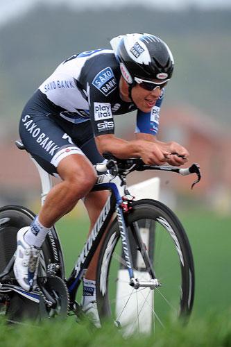 Richie Porte, Tour de Romandie 2010, stage 3 ITT