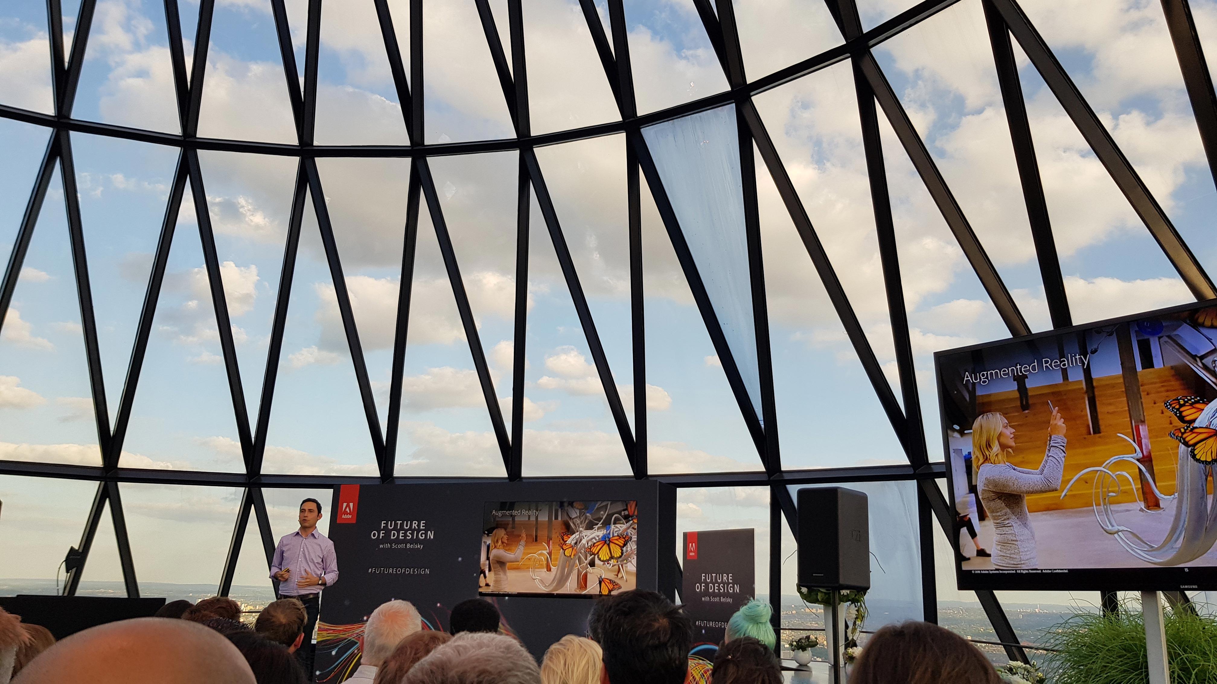 scott belsky at the gherkin in London