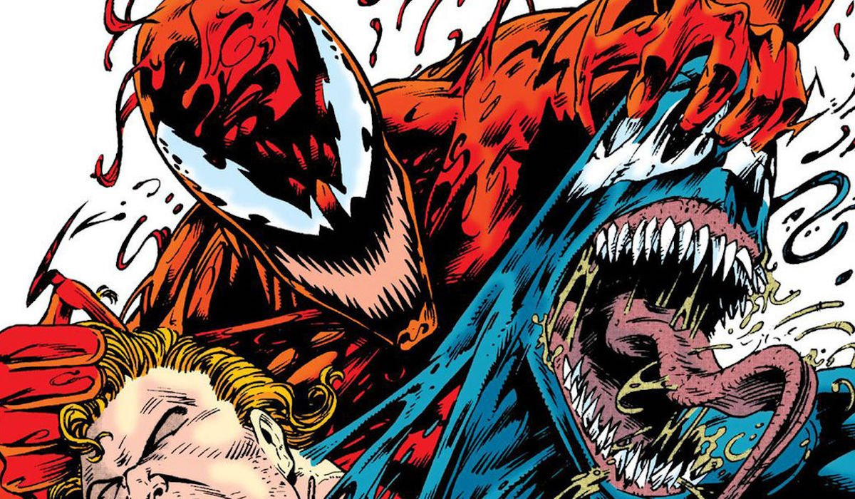 Carnage and Venom in the comic books
