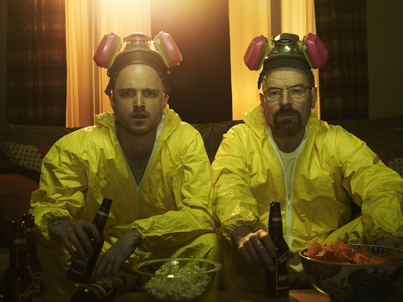 Breaking Bad Season 5 Photos Show The Cast And Walter White's Partner Relationships #22554