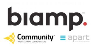 "Biamp has announced the acquisition of Audioprof Group International, parent company of Community Loudspeakers based in Philadelphia, and Apart Audio, based in Antwerp, Belgium from 3d Investors of Gent, Belgium. Founded in 1968 by speaker design pioneer Bruce Howze, Community Loudspeakers has a long history of speaker design firsts. Today, Community Loudspeakers is an established and respected manufacturer of a broad range of speakers targeting demanding indoor and outdoor applications including commercial, leisure, stadiums, and other large venues. Most recently at InfoComm 2019, Community Loudspeakers introduced the new L SERIES LVH-900 Beamforming Venue Horn, continuing its tradition of innovation. Apart Audio is a strong competitor in full signal path functional and commercial and leisure audio solutions for small and mid-size venues including retail, food service, education, and small offices. It offers a broad array of speakers as well as amplifiers, mixers, controllers, and paging stations to make Apart Audio a single-vendor solution for these markets. Apart has an established business in Europe and just entered North America in 2018, a market in which Biamp's extensive distribution system can provide an immediate boost. ""I am tremendously excited to complete this transaction,"" said Rashid Skaf, Biamp president, CEO, and co-chairman. ""Building a comprehensive lineup of speakers has been a priority of mine as we move to position Biamp as a full line provider of professional audiovisual solutions. Acquiring Apart Audio and Community Loudspeakers was my preferred route to accomplishing that quickly with incredibly strong and respected brands. The many products added to our portfolio give us powerful positions in several key growth markets for Biamp—most notably retail, hospitality, restaurants, stadiums, and outdoor venues. With this move, Biamp has clearly established itself as a leader in the pro AV market."" ""I am thrilled that Community Loudspeakers and Apart Audio are joining the Biamp family,"" said Kris Vermuyten, CEO of Apart Audio. ""The great product complementarity and geographical fit strengthen my belief that we are now part of one of the strongest and most respected AV solutions providers and that we will be able to offer best-in-class solutions to our channel partners and end users. I want to thank 3d Investors for their hands-on support and guidance during the last 10 years that helped our company grow into a worldwide installed sound specialist."" Under Skaf's direction, Biamp has charted an aggressive growth strategy that blends organic product line and distribution expansion with entry into new markets via acquisition. The addition of Audioprof Group International comes just seven months after the company acquired Cambridge Sound Management. Biamp currently offers a wide range of audiovisual solutions that facilitate communication and collaboration in conference rooms, lecture halls, auditoria, and now hospitality and retail, as well as paging and notification for open areas like offices, concourses, stadiums, retail centers, and casinos. Community Loudspeakers and Apart Audio will join Biamp as product families within the company's portfolio, with business functions gradually blending to form a single Biamp business."