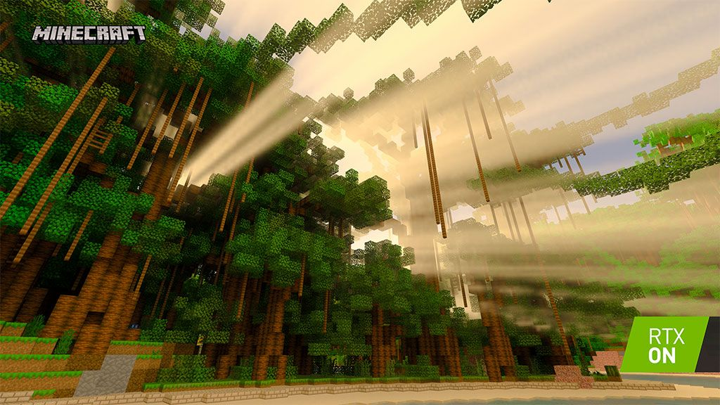 Nvidia's latest GPU driver is ready for the Minecraft with RTX beta