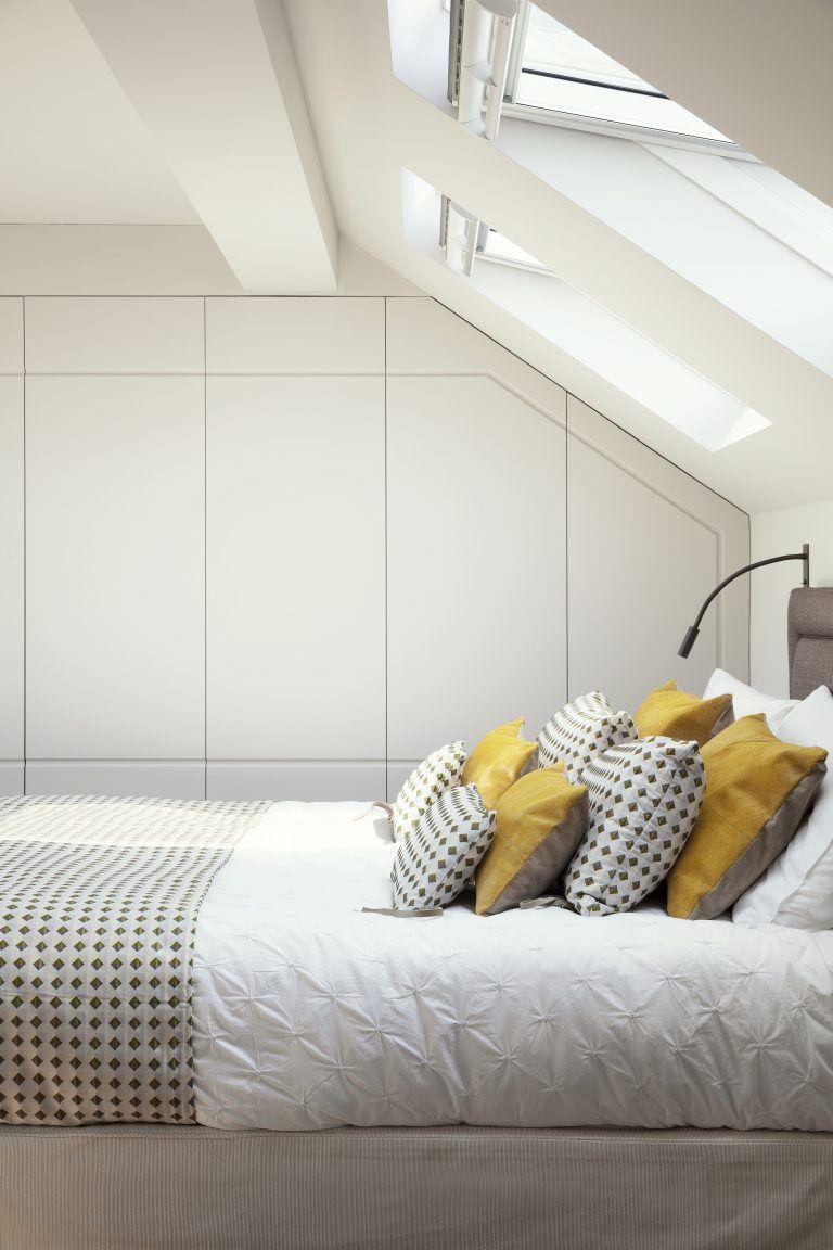 built in wardrobe ideas for loft bedroom