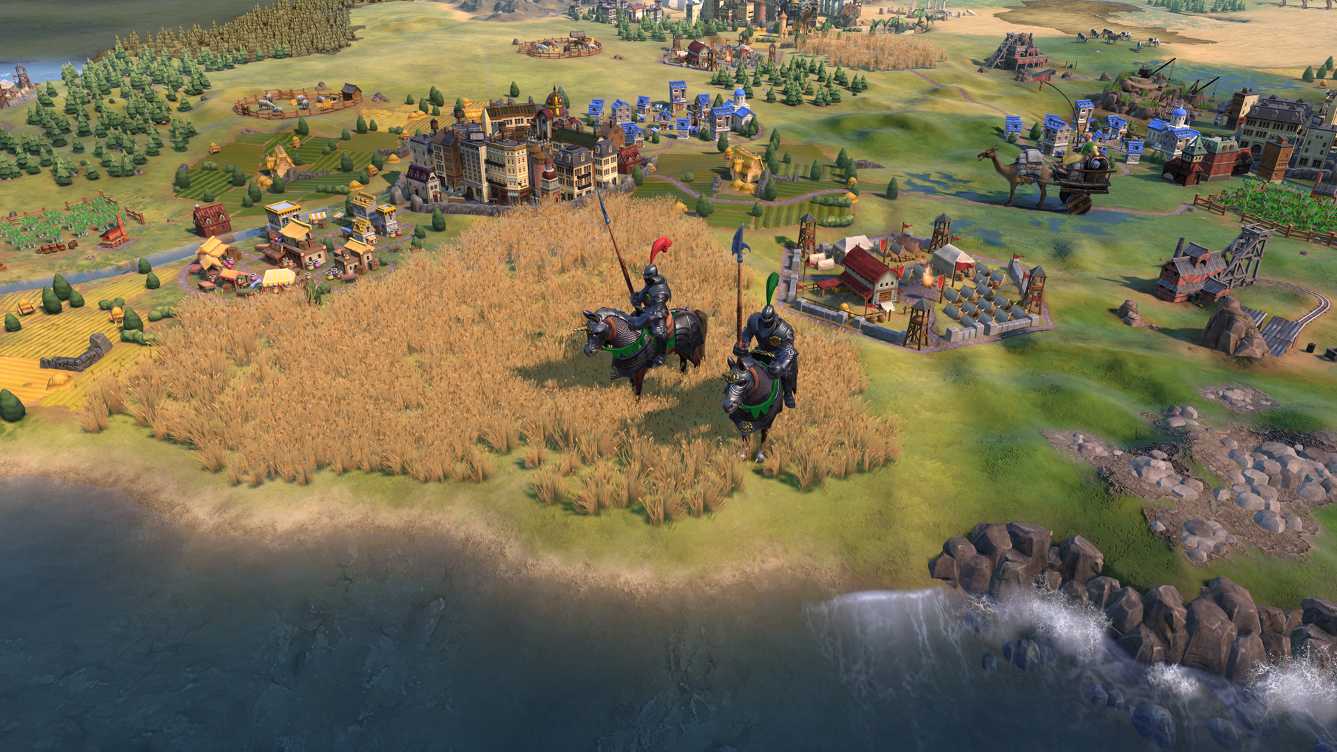 Civilization 6: Gathering Storm's Hungary makes friends so it can