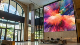 Planar Directlight X LED Video Wall System at Plaza Coral Gables