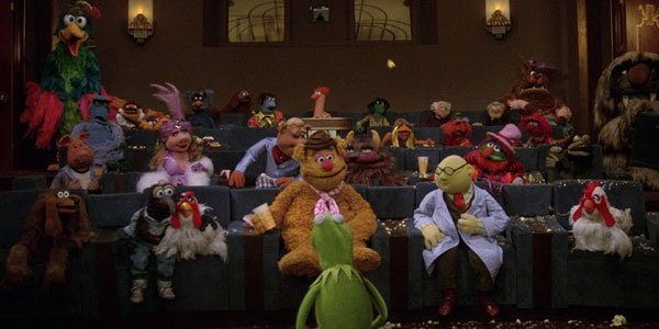 The Muppets in movie theater