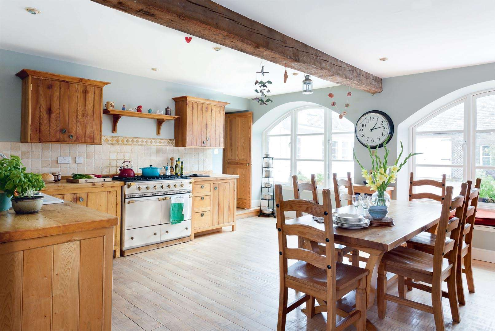 converting a run down farm building into a family kitchen real homes - Family Kitchen
