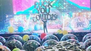 The Flaming Lips at the world's first bubble dome concert