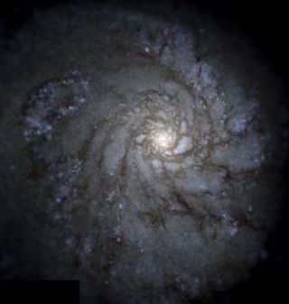 Milky Way Galaxy Supercomputer Simulation