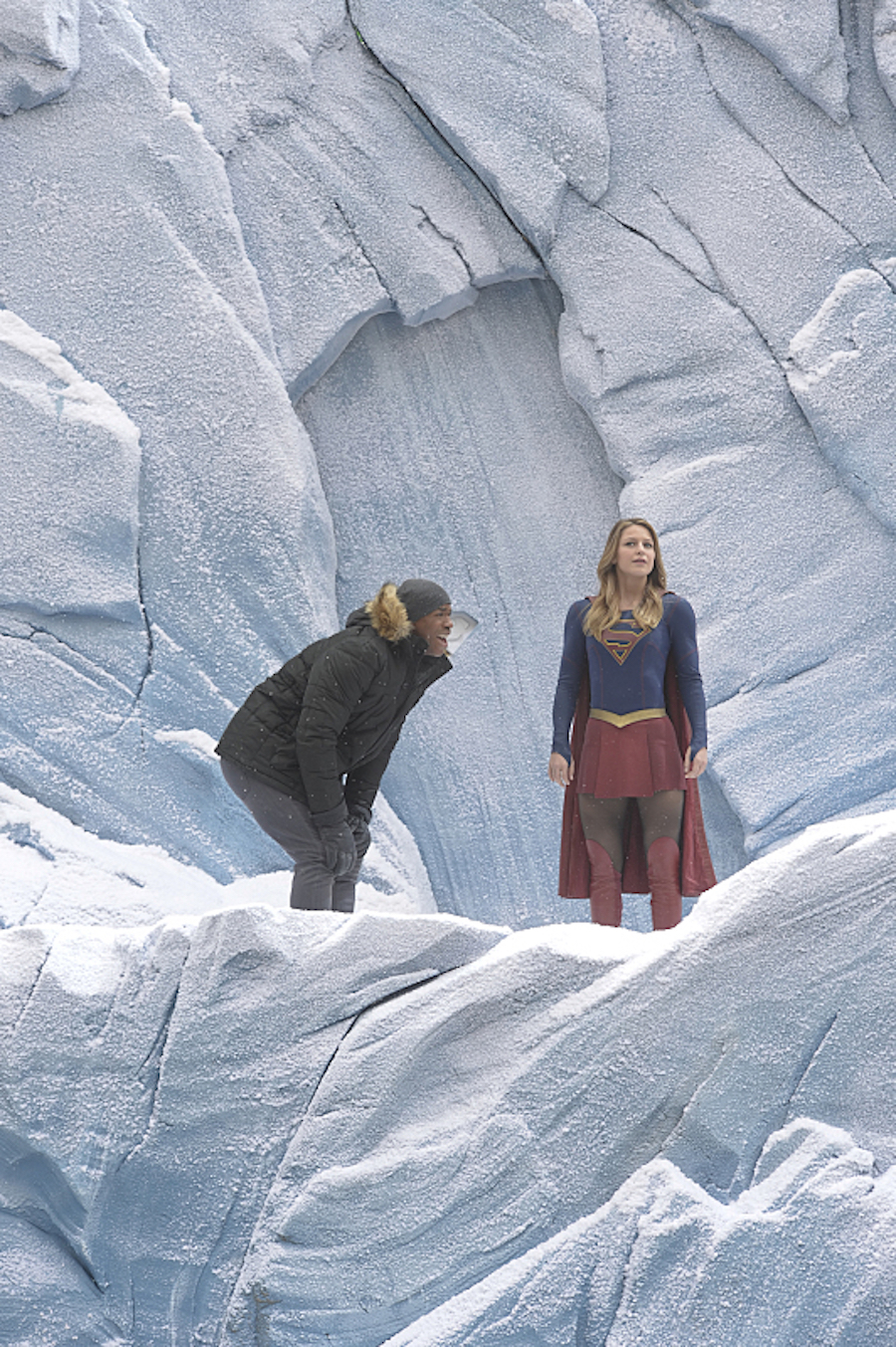 Supergirl: Check Out The First Look At The Fortress Of Solitude #35517