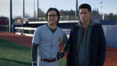 "Jesse Rath and Peter Sudarso in Supergirl ""Prom Night"""