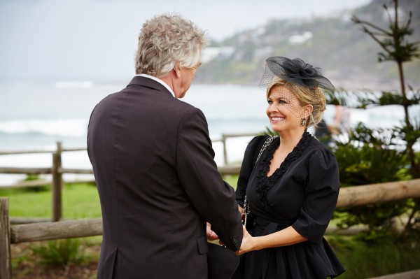 In Summer Bay Marilyn has found happiness with John (Channel 5)