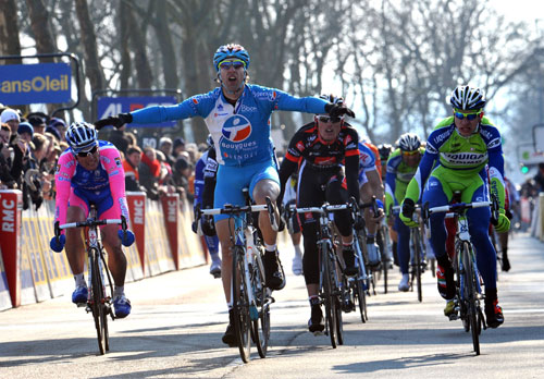 William Bonnet wins, Paris-Nice 2010, stage two