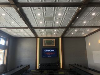 Farmers Mutual Telephone Company (FMTC), an Iowa-based fiber optic internet, video, and phone services provider, recently redesigned its main conference room with the help of AVI Systems and ClearOne.
