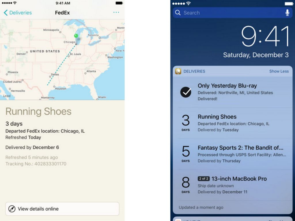 best iphone apps deliveries