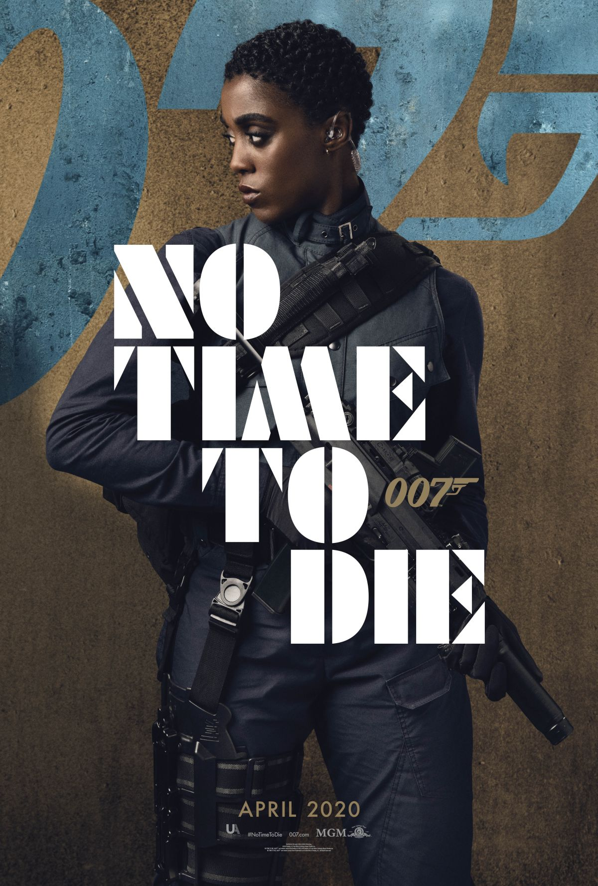 Lyshanna Lynch poster for No Time To Die