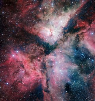 Carina Nebula Imaged by the VLT Survey Telescope