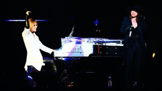 X Japan performing live