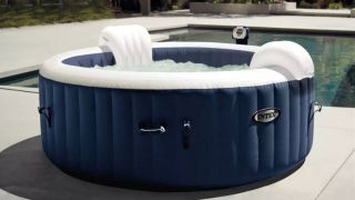 Hurry! This Intex inflatable hot tub is $260 off, but it's bound to sell out