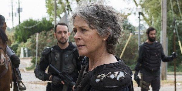 Carol in Season 8 of The Walking Dead