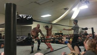 Andy Williams from Every Time I Die wrestling Joey Ryan