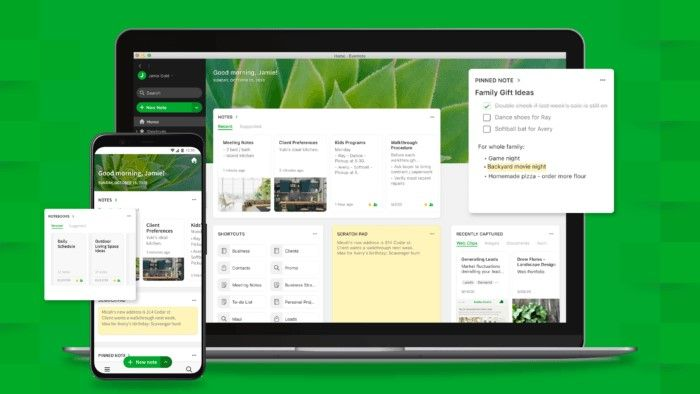 Evernote Home wants to help you organize all your content in one place
