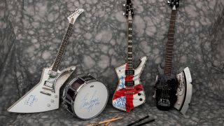 The Kiss instruments up for auction