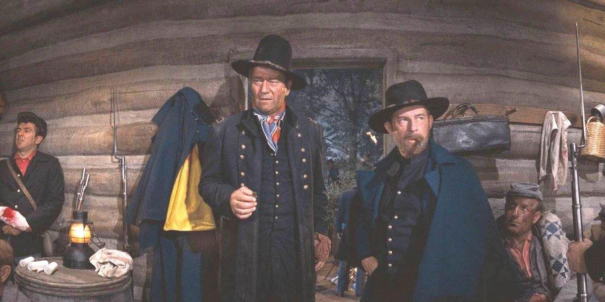 John Wayne with the black hat
