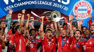 Bayern Munich won the 2019/2020 Champions League final in August, beating PSG 1-0.