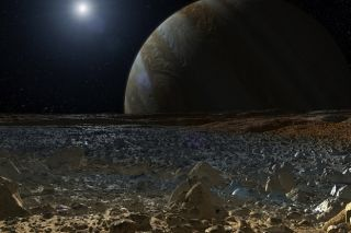 artist's concept of europa