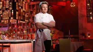 Gordan Ramsay in Hell's Kitchen