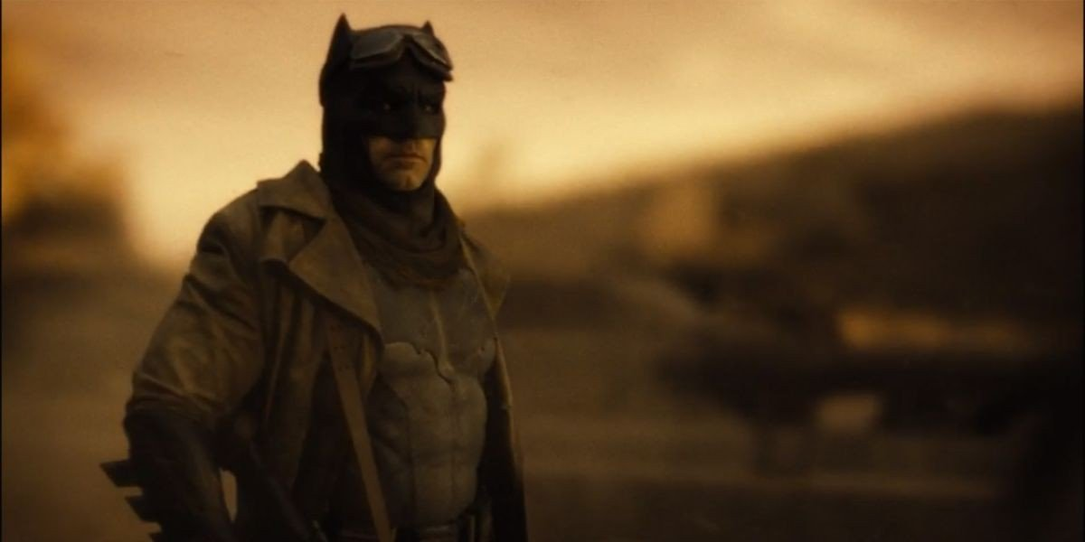Ben Affleck knightmare zack snyder's justice league