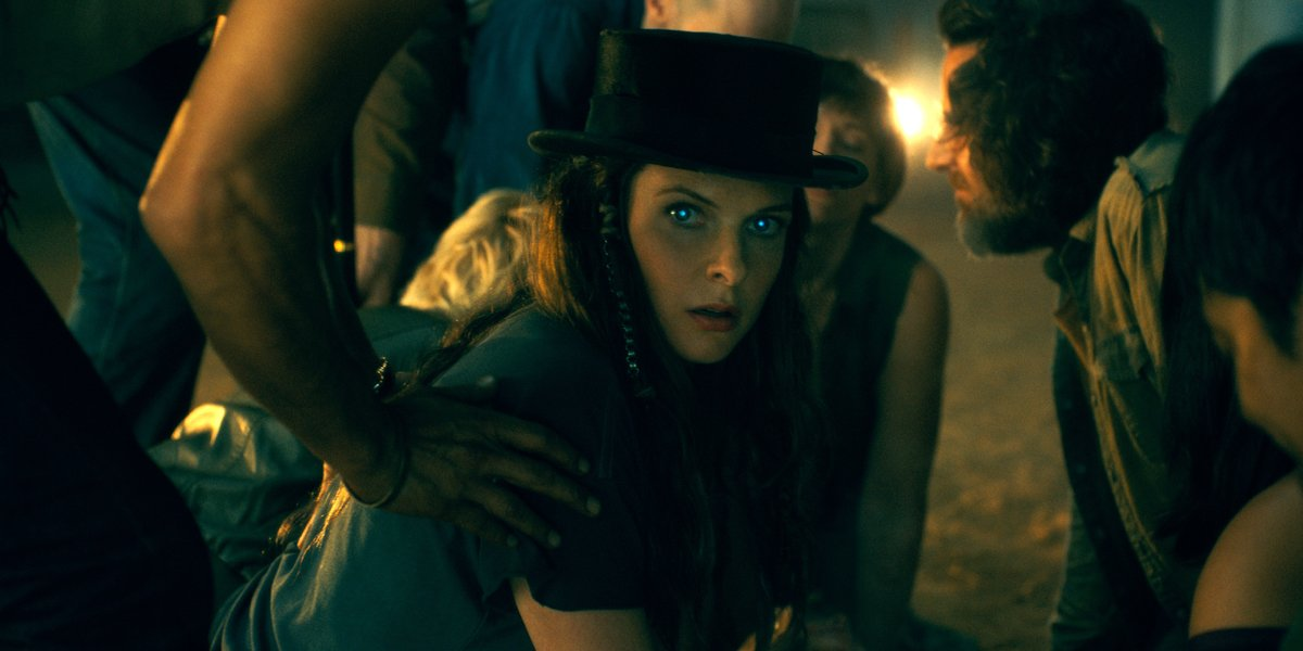 Rebecca Ferguson notices Abra in Doctor Sleep