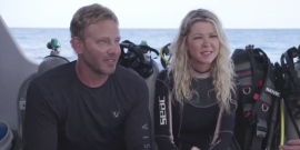 Did Shark Week Send The Wrong Message With Ian Ziering And Tara Reid's Sharknado Special?