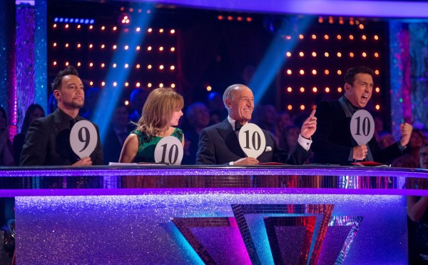 Bruno Tonioli enjoys awarding a 10 on Strictly Come Dancing