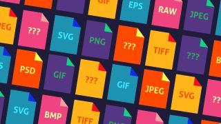 Graphic of image file formats