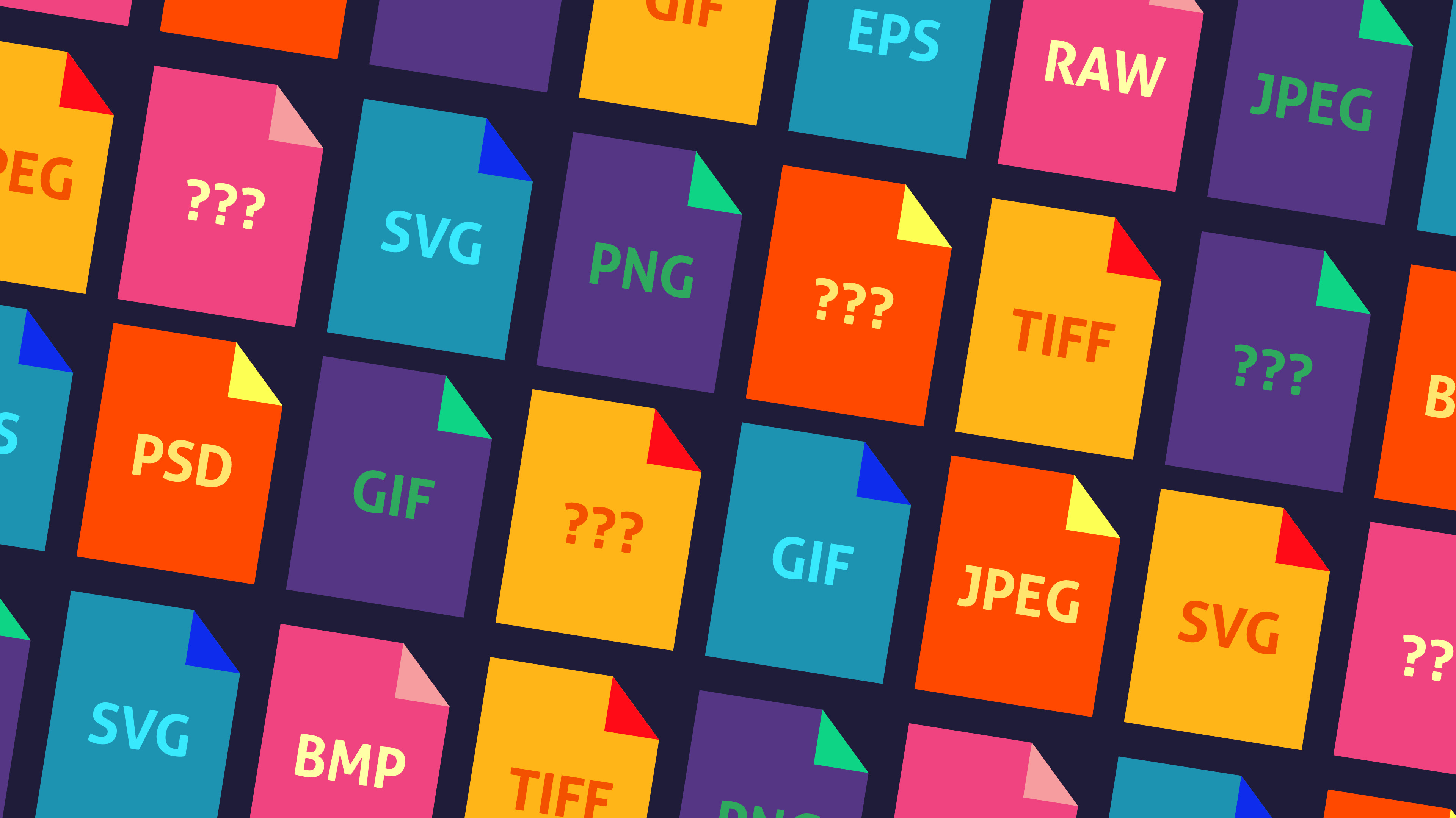 Common Image File Formats And When To Use Them Creative Bloq
