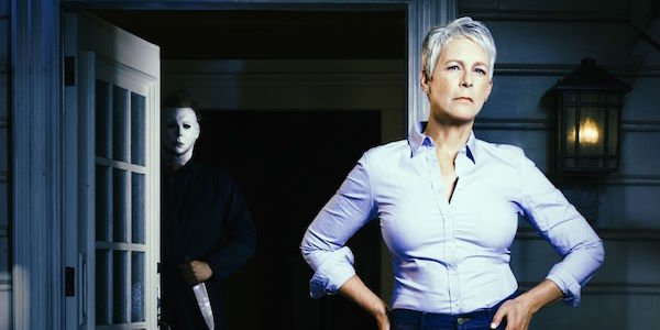 Promo image for the new Halloween movie