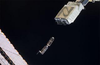 NanoRack's CubeSat Deployer