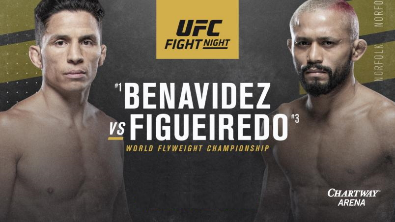 Watch UFC Fight Night 169: Benavidez vs. Figueiredo 2/29/2020 Full Show Online Free
