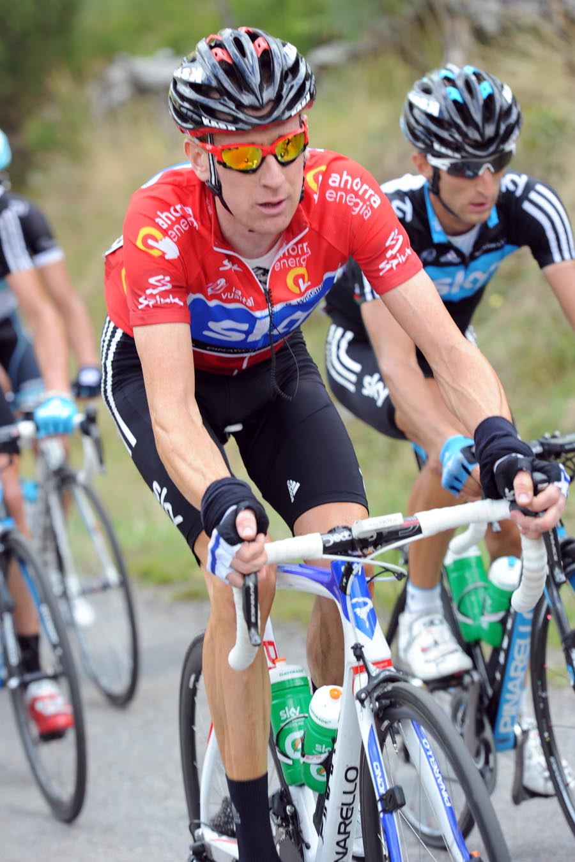 Bradley Wiggins, Vuelta a Espana 2011, stage 13
