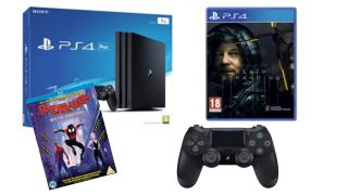 PS4 Pro 1TB, Death Stranding, Into The Spider-Verse and a spare controller