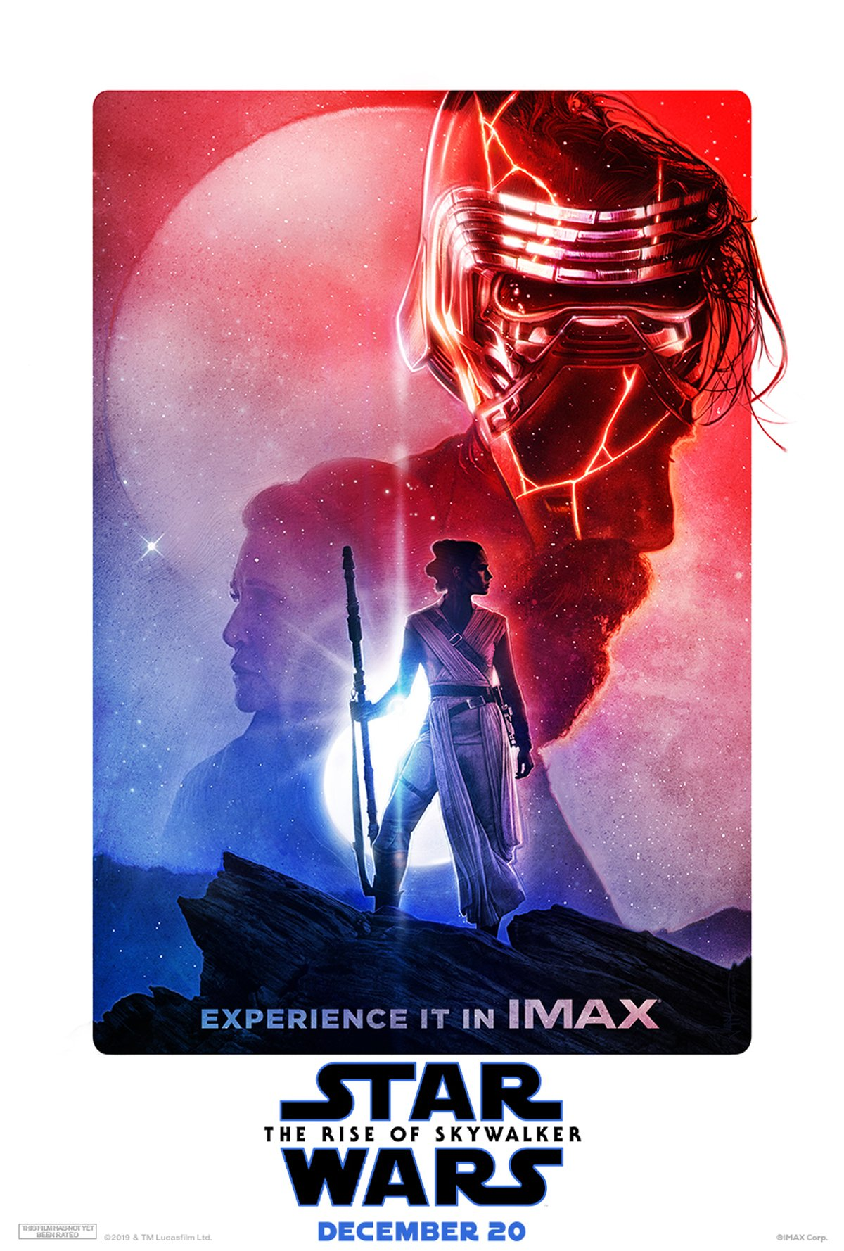 Star Wars: The Rise of Skywalker IMAX art poster
