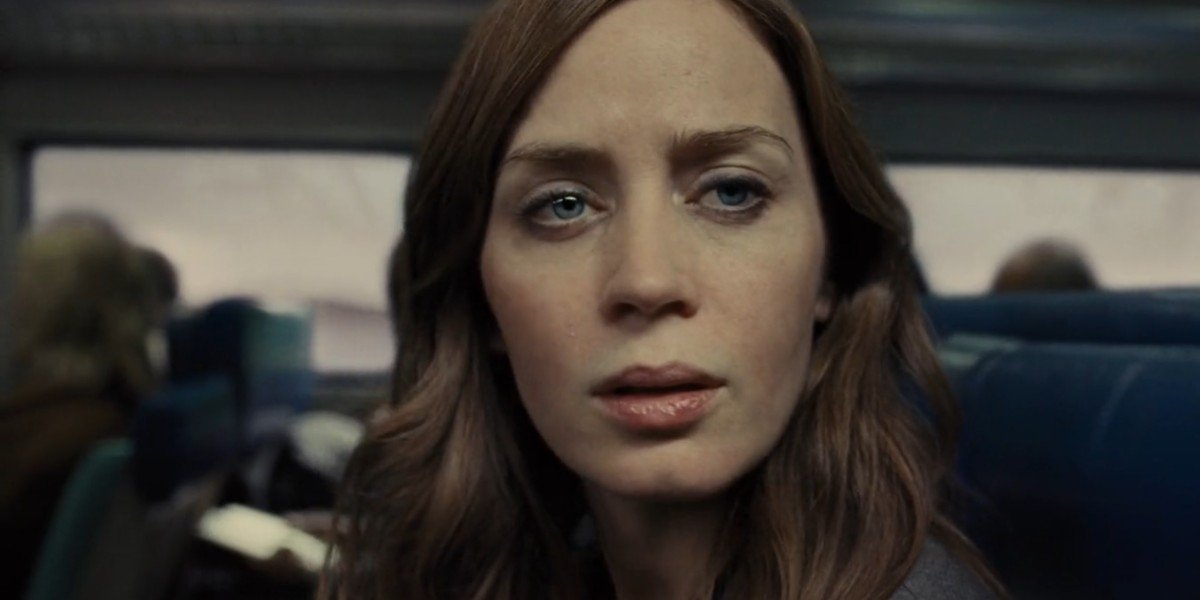 Emily Blunt in The Girl On The Train