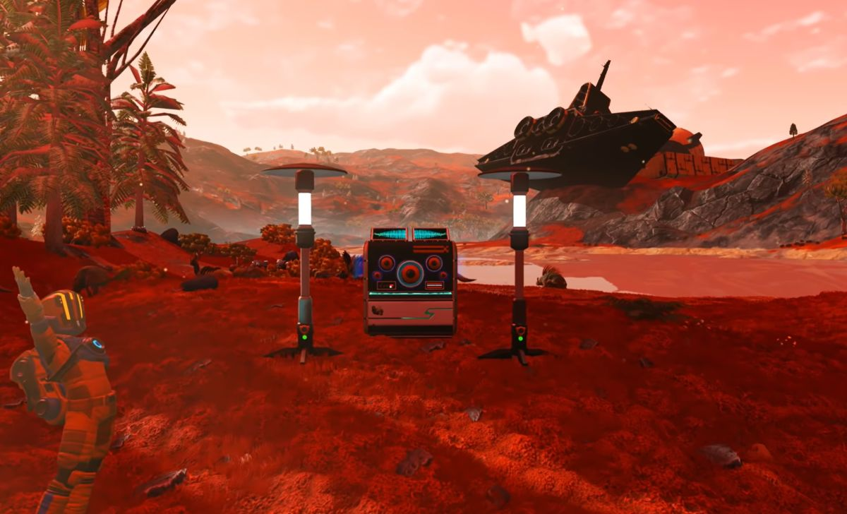 No Man's Sky now has an audio creation tool that lets you make cosmic beats