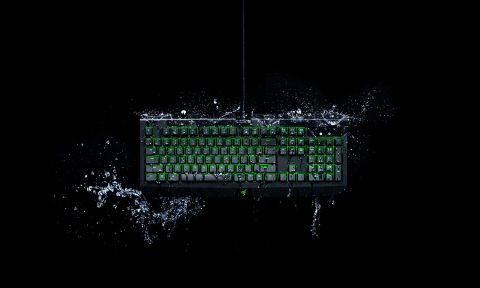 d3f374e94bd The Razer New BlackWidow Ultimate feels comfortable and performs well, and  its water resistance is a potentially useful new feature.