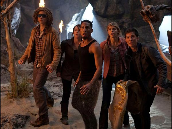 Percy Jackson Group Shot