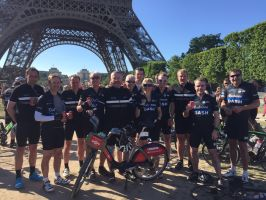 Cyclist conquers 24-hour London to Paris charity ride on Boris Bikes