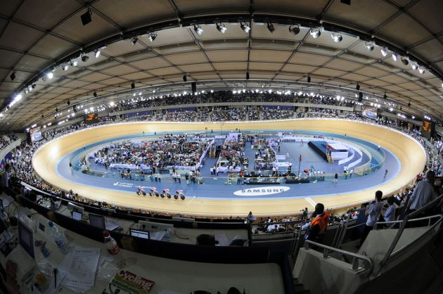 London velodrome, London Track World Cup 2012, day one