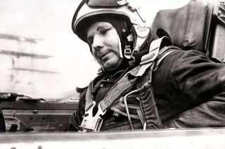 Soviet Cosmonaut Yuri Gagarin 1968 Before Crash
